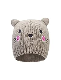 Mountain Warehouse Cat Kids Beanie - Lightweight, Compact, Easy Care Fabric - Easy to Pack Away - Perfect Keep Kids Head Warm & Protected in Wintry Season Grey