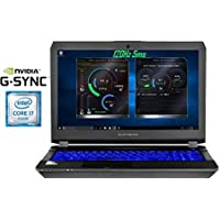 Eluktronics Pro-X P650HS-G VR Ready 15.6 120Hz 5ms Gamers Edition Laptop PC - Intel i7-7700HQ Quad Core Win 10 Home 8GB GDDR5 NVIDIA GeForce GTX 1070 + G-SYNC 512GB PCIe NVMe SSD 32GB DDR4 RAM