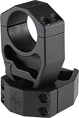 Seekins Precision 30mm Tube Riflescope Rings,1.45in AR High, 4 Cap Screw 0010620018 from Seekins 30mm 1.45' AR high scope rings,  4 cap screw