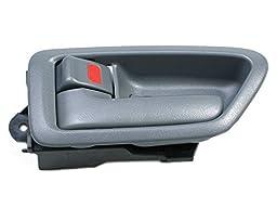 MotorKing B550 Door Handle (97-01 Toyota Camry Inside Left Gray)