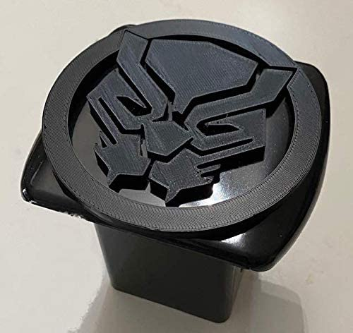 Balck Panther logo Ready for use 3D Printed Car Plate Frame