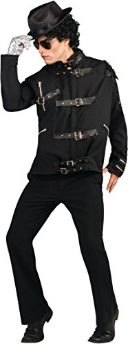 Michael Jackson Deluxe Bad Buckle Jacket for Adults