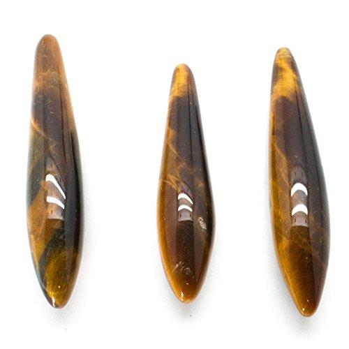 - Tiger's Eye Briolette Crystal Set