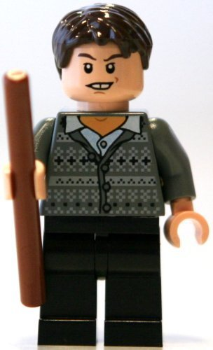 LEGO Neville Longbottom w/ wand - Harry Potter Minifigure