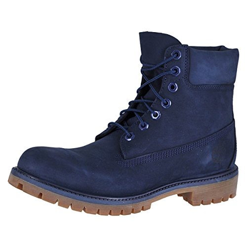 Timberland TB06718B484 Men's Icon 6-in Premium Boot Navy Monochrome 11.5 W US (Leather Icon Boot)