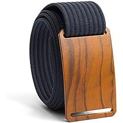 48 Inch Olive Belt Buckle w/Navy Strap