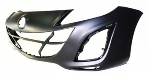 Crash Parts Plus Primed Front Bumper Cover Replacement for 2010-2011 Mazda 3