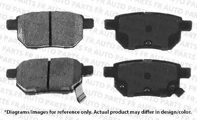 High-End 4 Black Coated Cross-Drilled Disc Brake Rotors Fits:- xB Front+Rear Kit 8 Semi-Metallic Pads 5lug