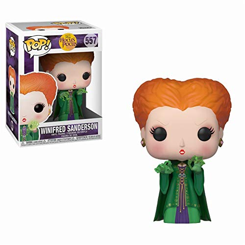 Pop! Figura de Vinilo Disney Hocus Pocus - Winifred w/Magic