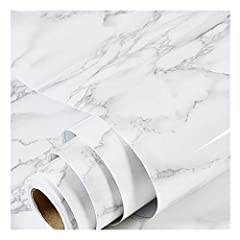 🎅Product Description for decorative Marble Cover Paper:■ Pattern:marble■ Material: PVC■ Color: white and Grey■ size: 17.71X 78.7in■ Net weight: 0.56 lbs. ■ Package Included: One Roll🎅Instruction For Use: ■ Marble Cover Paper can be placed on ...