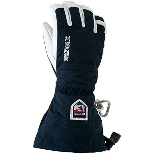 Hestra Army Leather Heli Ski Gloves, Navy, 9 by Hestra