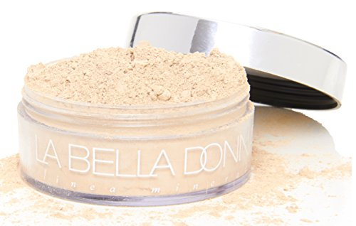 La Bella Donna Loose Mineral Foundation SPF 50 | 10g - Caterina (Best Cover Up Makeup For Rosacea)
