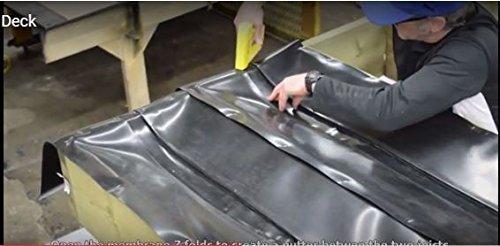 Goberco - Sistema de drenaje debajo de la cubierta – cada rollo (distancia entre las articulaciones de 40 cm) 45 cm de...