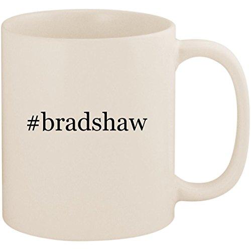#bradshaw - 11oz Ceramic Coffee Mug Cup, White