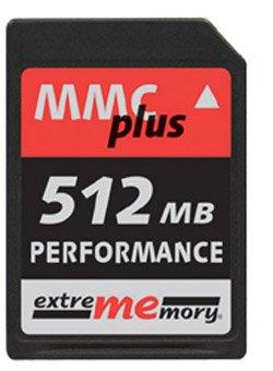 Extrememory Multimedia Plus (MMC +) Tarjeta de Memoria de 512 MB ...