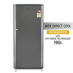 Whirlpool 190 L 3 Star (2019) Direct Cool Single Door Refrigerator(WDE 205 CLS 3S GREY-E, Grey)