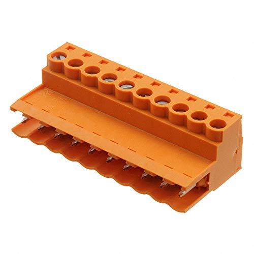 TERM BLOCK PLUG 10POS STR 5.08MM (Pack of 5)