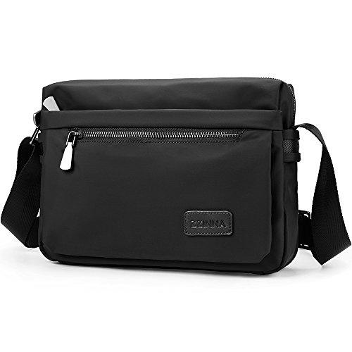 ZZINNA Man Bag Messenger Bag Crossbody Bags Waterproof Shoulder Bag Man Purse Purses and Bags for Men and Women