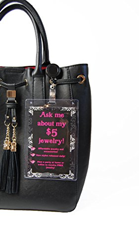 Purse Tag Ask Me About My $5 Jewelry | Join My Team | Double Sided from Paparazzi