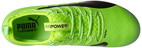 Puma Evopower Vigor 2 Ag, Botas de Fútbol para Hombre Verde (Green Gecko-puma Black-safety Yellow 01)