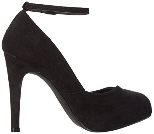 Bianco Ankle Strap Pump Son16 - Tacones Mujer Negro