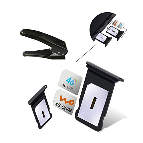 Dual SIM Card Adapter Sets for iPhone X 8 7 6S 6 Plus