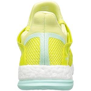 adidas Performance Women's Pure Boost X TR Cross-Trainer Shoe, Ice Yellow/Shock Slime/Ice Green Fabric, 7.5 M US