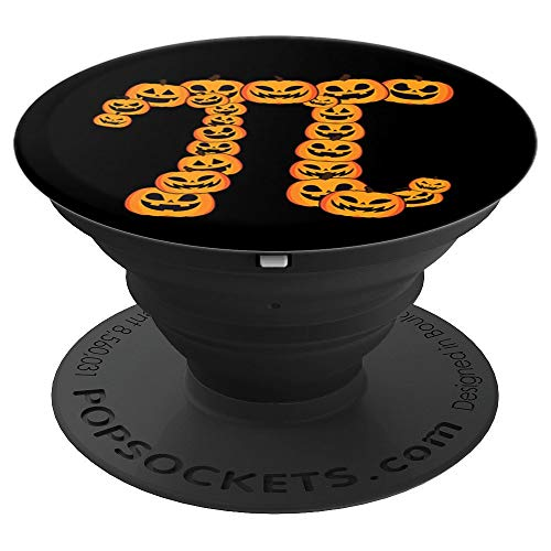 Pumpkin Pi Math Symbol Pun Funny Thanksgiving Halloween - PopSockets Grip and Stand for Phones and -
