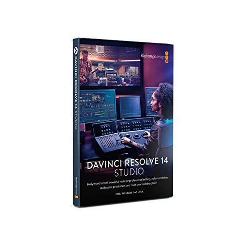 Blackmagic Design DaVinci Resolve Studio for Mac/Win/Linux for sale  Delivered anywhere in USA