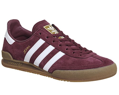 Adidas Kinder Sneaker, Jeans Maroon White
