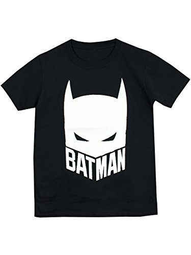 Batman Boys' Batman T-Shirt Glow in the Dark