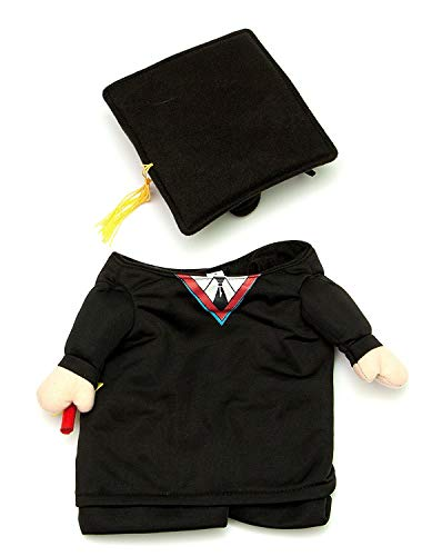 Midlee Fake Arms Graduation Dog Costume (Small Dog Large)]()