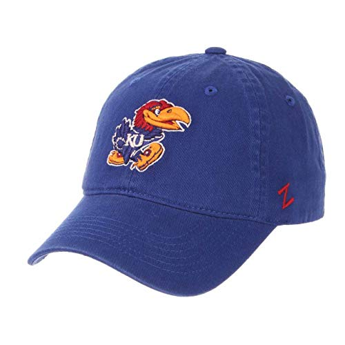 - NCAA Kansas Jayhawks Men's Scholarship Relaxed Hat, Adjustable Size, Team Color