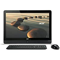 Aspire 23.0 LED AMD A-Series A4-5000 1.50GHz 4GB RAM 500GB HDD Win8 Pro 64-bit All-in-One Computer