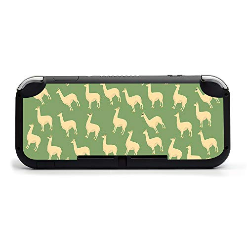 MIGHTY SKINS MightySkins Skin Compatible with Nintendo Switch Lite - Llama | Protective, Durable, and Unique Vinyl Decal Wrap Cover | Easy to Apply, Remove, and Change Styles | Made in The USA