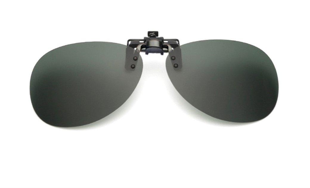 UK1stChoice-Zone Flip Up Verde Clip Su Occhiali da Sole Lenti Polarizzate IT-FBA-SunGlasses1304-Green