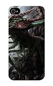 00a82f15477 Tough Iphone ipod touch4 Case Cover/ Case For Iphone ipod touch4(art Monster Cave Rocks Stones Insect Dark Creature ) / New Year's Day's Gift by kobestar
