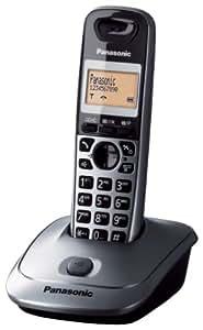 "Panasonic KX-TG2511, handset, Digital, 50 entradas, 3.81 cm (1.5 ""), Monocromático, Ámbar [importado de Alemania]"