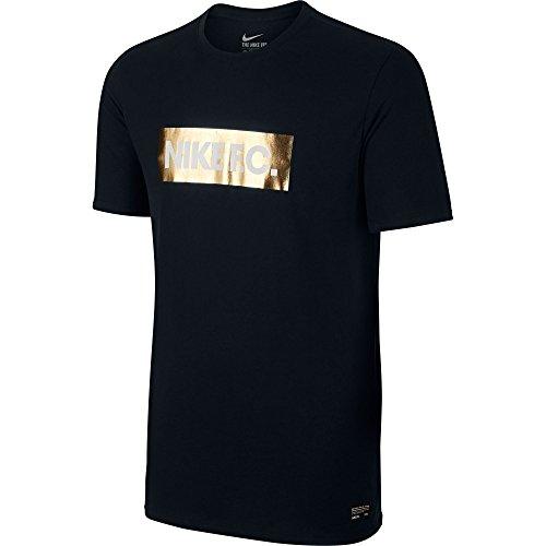 Weiß Schwarz Blau für T Tee Foil Nike Shirt Herren FC Schwarz qAngTxwB