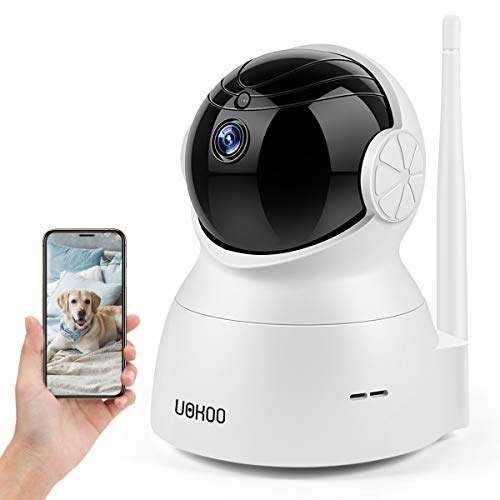 Security Pet Camera, Wireless Security Camera 720P HD Home WiFi Surveillance IP Camera with Motion Detection Pan/Tilt, 2 Way Audio and Night Vision Baby Monitor, Nanny Camera