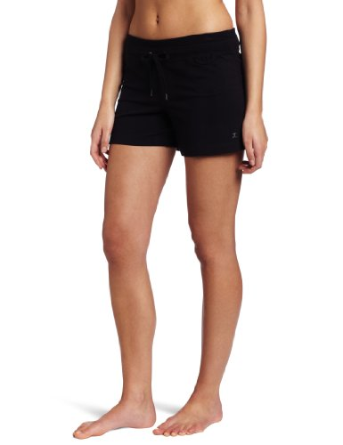- Danskin Women's Drawcord Short, Black, 3X