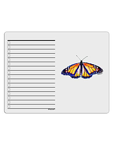 TooLoud Watercolor Monarch Butterfly To Do Shopping List Dry Erase Board Butterfly Dry Erase Board