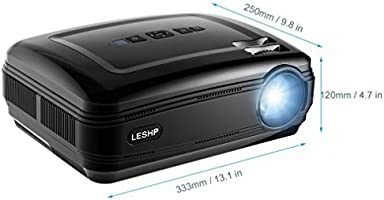 Proyector,【Versión Actualizada】 Proyectores Full HD LED 3200 ...