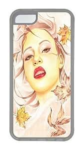Autumn TPU Case Cover for iPhone 6 plus (5.5) Transparent