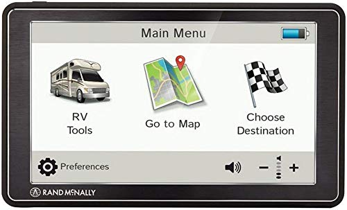Rand McNally RDY0528018493 RVND 7 GPS Device with Free Lifetime Maps