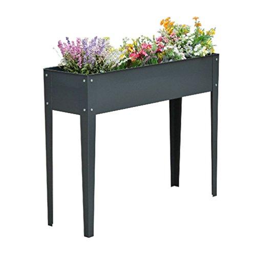 Raised Garden Flower Bed Elevated Plant Kit Deck Vegetabl...