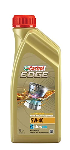 Velsete Castrol EDGE 5W-40 Engine Oil 4L: Amazon.co.uk: Car & Motorbike DK-01