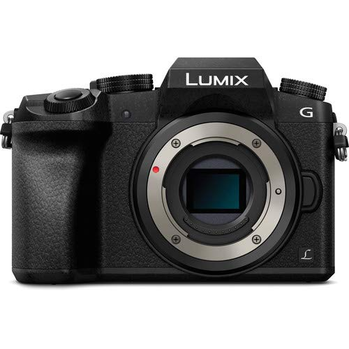 - Panasonic Lumix DMC-G7 Mirrorless Micro Four Thirds Digital Camera (Black Body Only) - International Version (No Warranty)