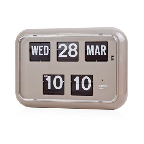 Retro Calendar Wall Clock - 4