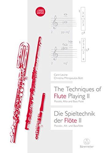 Die Spieltechnik der Flöte, m. Audio-CD
